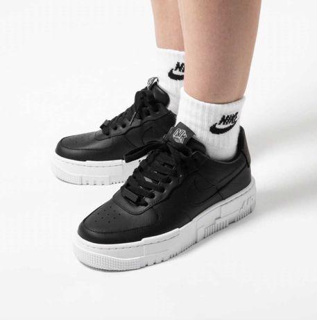 Женские Кроссовки Nike Air Force 1 Pixel Black ОРИГИНАЛ Магазин