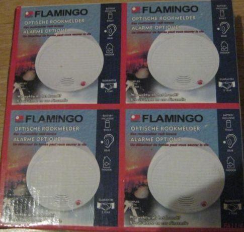 Flamingo FA 11 Optyczna czujka dymu, sygnalizator przeciwpożarowy.