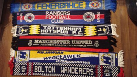 6 x Szalik Fenerbahce Rangers Tottenham Manchester U Bolton Kujawiak