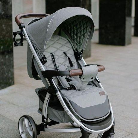 Современная и стильная прогулочная коляска Carrello Vista 8505