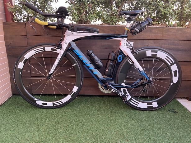 Bicicleta scott triatlo