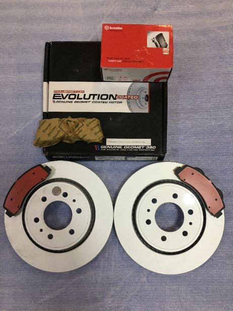 Тормозные колодки, диски тормозные Ford F150