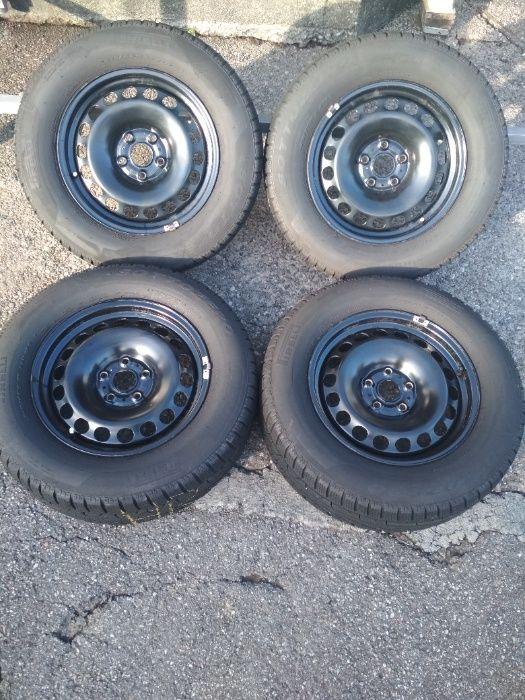 215/65R16 opony zimowe Pirelli Sottozero 6,3-7mm felgi vw et 33 Tiguan Wadowice - image 1