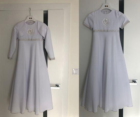 ALBA KOMUNIJNA - Sukienka + Bolerko Rozmiar 128