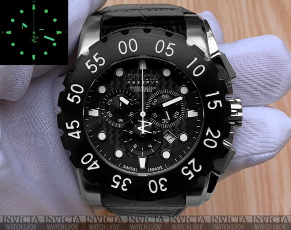 Швейцарские часы Invicta Reserve 1957 Leviathan Swiss Made