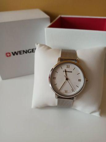 Nowy oryginalny zegarek damski Wenger szwajcarski