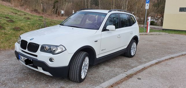 BMW X3 xdrive 2009r Lifestyle
