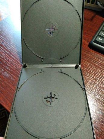 ОПТ Коробки (боксы) для CD и DVD дисков на 2 компакт-диска
