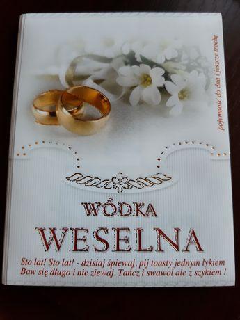 Wódka Weselna 40 szt etykieta nalepka naklejka na butelkę, ślub