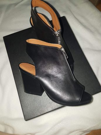 Sandały damskie na obcasie Zign