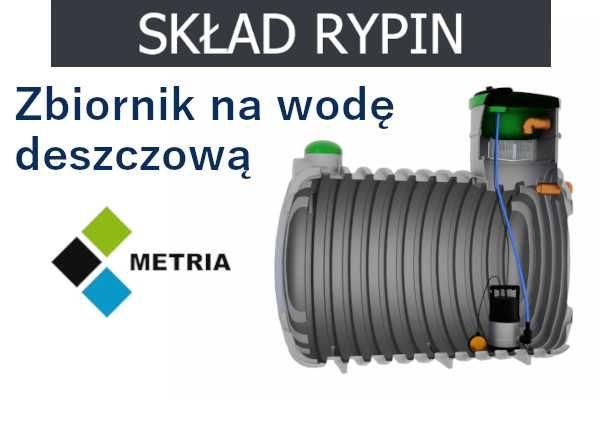 Rypin - Zbiornik na wodę deszczową deszczówkę 3000L 4000L cena brutto