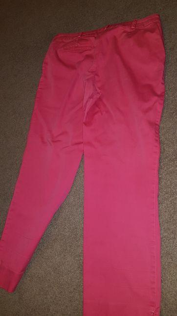 Spodnie promod rozmiar 38 czerwone
