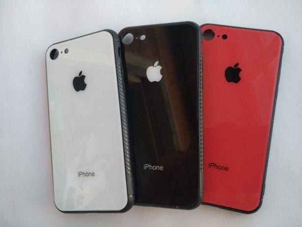 Стеклянный премиум чехол iPhone 6,S,7,8,X,XS,Xr,Plus,11,Pro,Max стекло