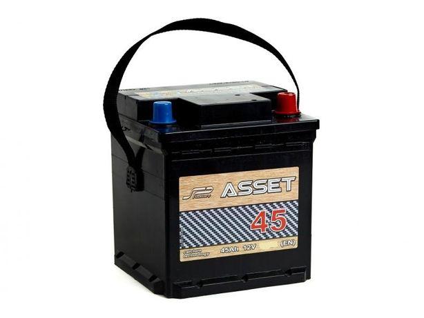 Akumulator Asset 12V 45Ah 380A kostka