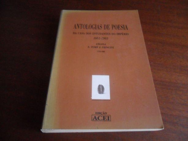 """""""Antologias de Poesia da Casa dos Estudantes do Império 1951 a 1963"""""""