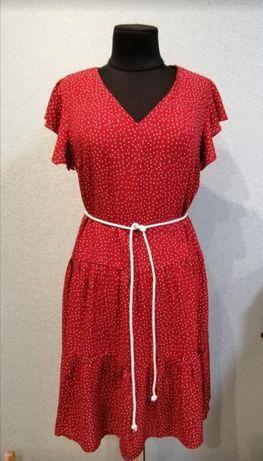 Лёгкое летнее платье в горох