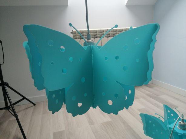 Żyrandol motylek dla dziewczynki 2 sztuki