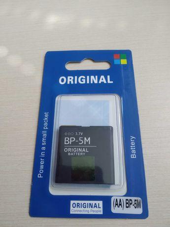 АКБ оригинал Nokia BP-5M Nokia 5610/ 5700/ 6500 Slide/ 7390/ 8600 Luna
