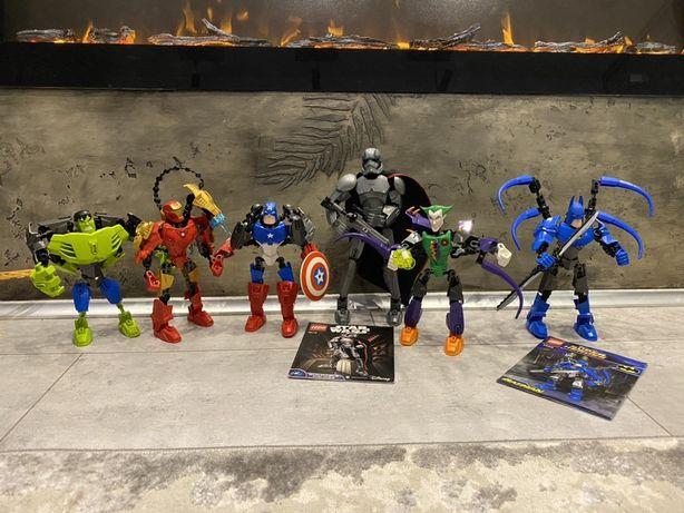lego bionicle superheroes, лего бионикл супергерои.