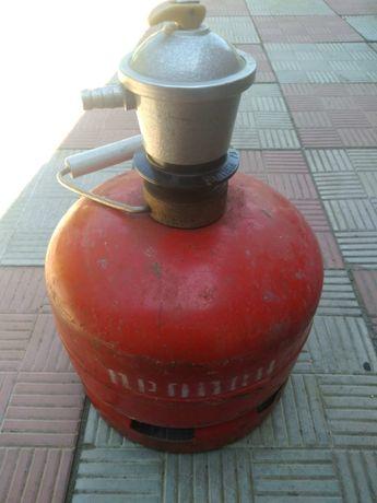 Газовый балон на 5 литров с редуктором.