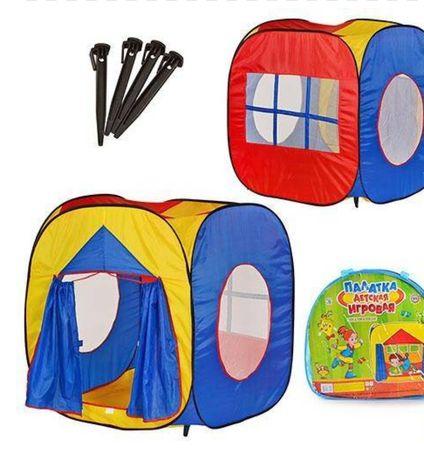 Палатка детская большая 105×100×105см