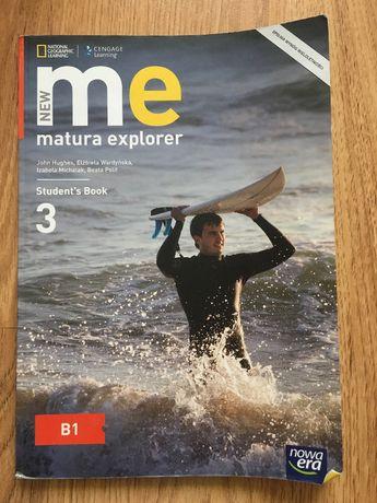 Podręcznik język angielski New Me Matura Explorer 3