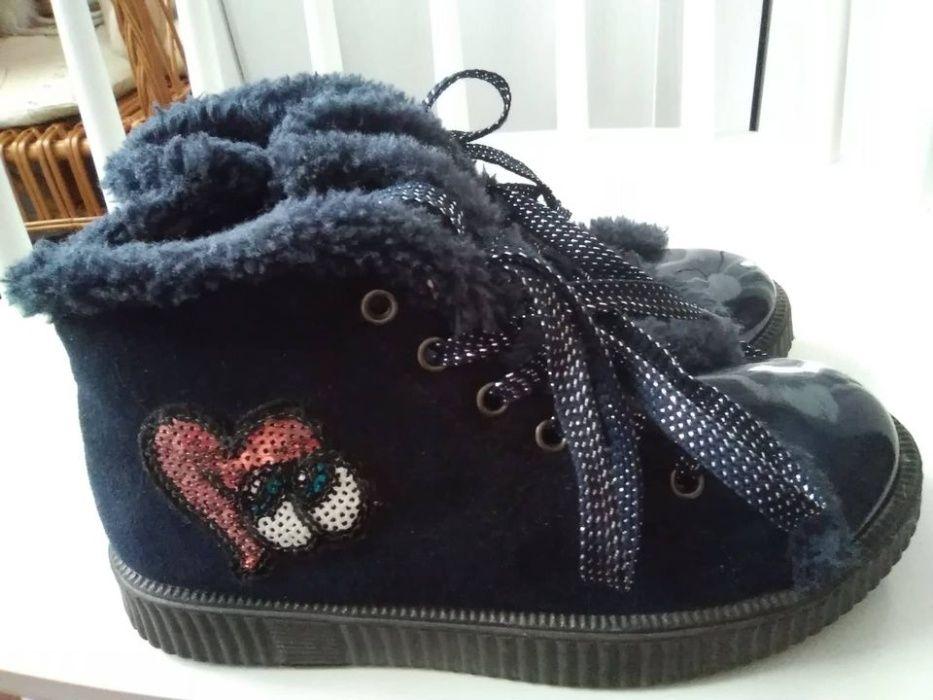 Buty ocieplane dla dziewczynki Pawłów - image 1