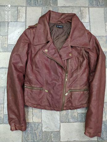 Куртка косуха на синтепоновій підкладці