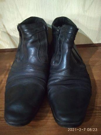 Продам ботинки кожа 41размер 500 руб