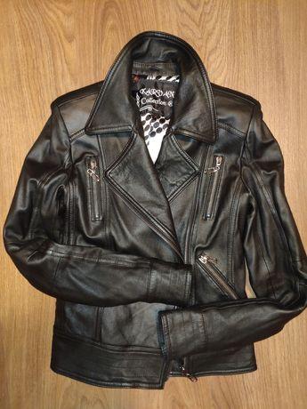 Косуха, натуральная кожаная куртка