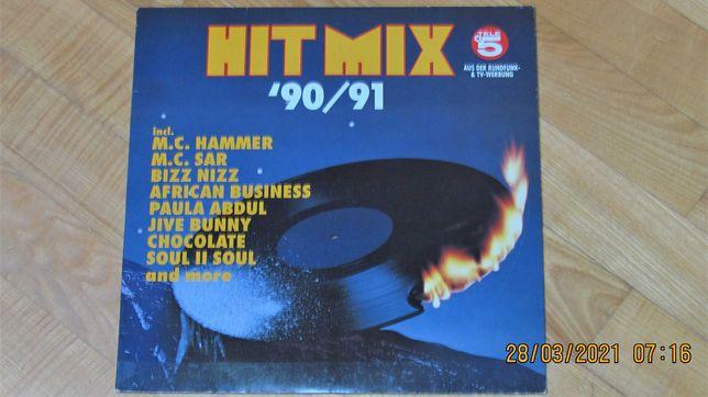 Hit Mix - 90-91 Nonstop mix of...;  2LP ; NM