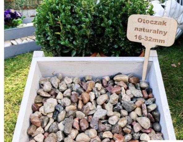 Kamień Otoczak 16-32 kolorowy żwir płukany ozdobny do drenaży kryszywa