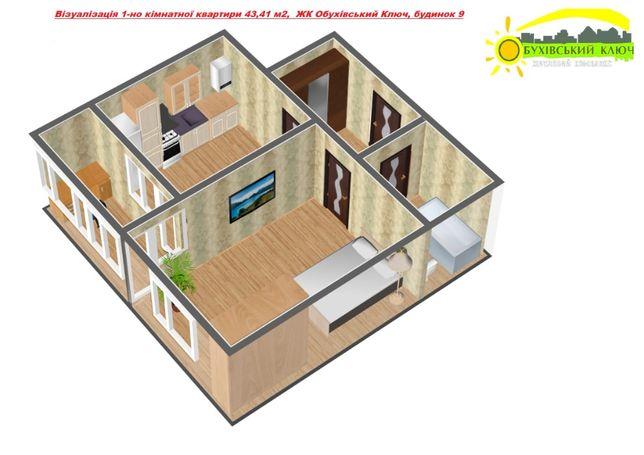 Старт продажу квартир у ЖК Обухівський Ключ будинок №9