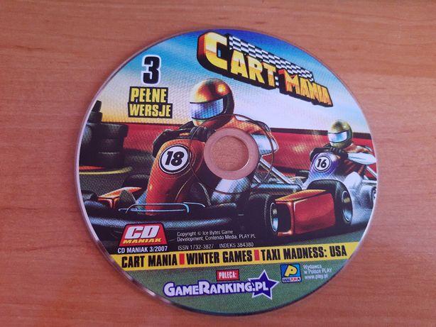 3 gry z CD Maniak 3/2007 Cart Mania, Winter Games, Taxi Madnes: USA