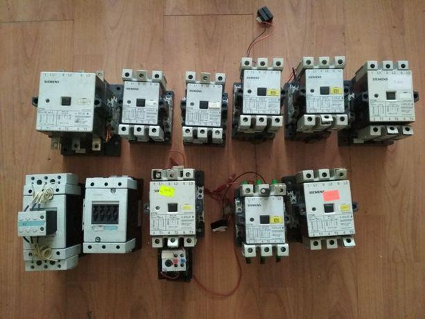 Пускачі, контактори 220В ABB, Siemens, Moeller від 40 А