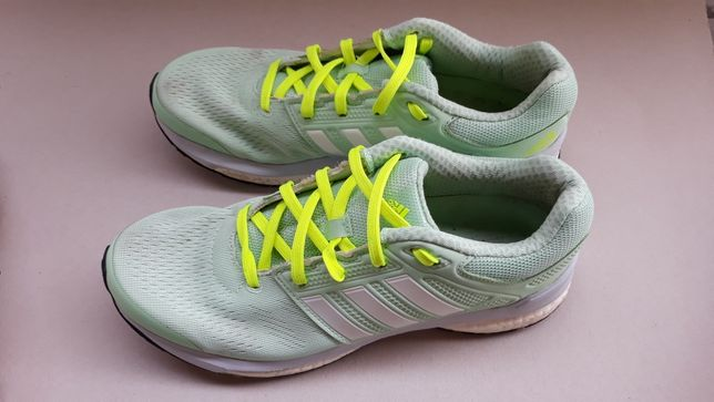 Adidas 40 revenge boost b22926 miętowe do biegania damskie
