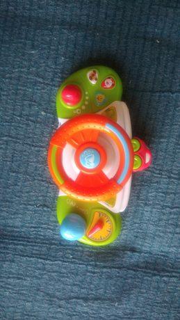 Zabawka grająca kierownica samochodzik