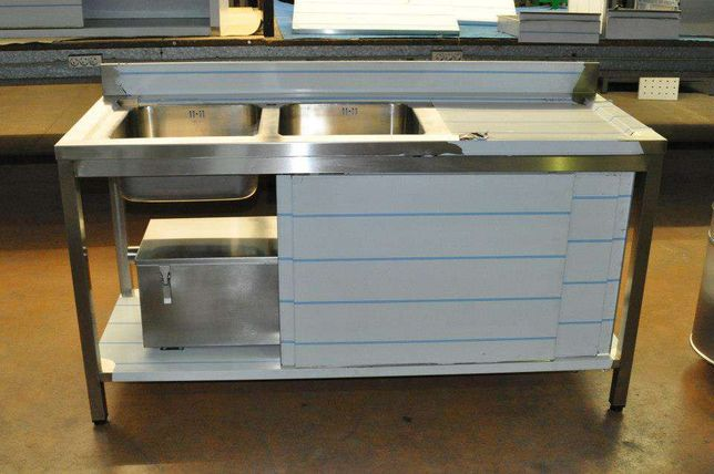 Bancadas armários material qualidade de inox várias medidas Novo