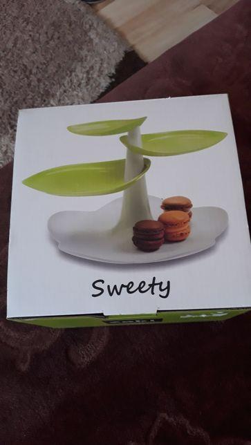 Zak designs sweety NOWE! stojak ,patera na ciasto