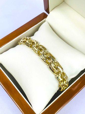 Złota bransoletka pr.585 14K - Plus Lombard