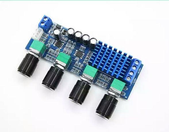 Усилитель звука+ темброблок , цифровой аудио TPA3116 D2. DC 12-24 V.