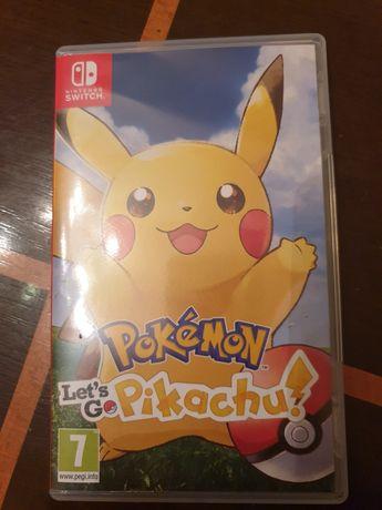 Zamienię Grę Pokemon Let's Go Pikachu na Pokemon Sword na Nintendo
