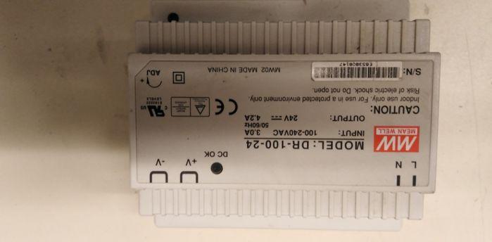 zasilacz na szynę DR100-24V Blachownia - image 1