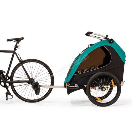 Podwójna przyczepka rowerowa dla dzieci Burley Encore X - PROM -10%