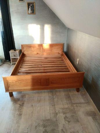 Łóżko dębowe 140X200