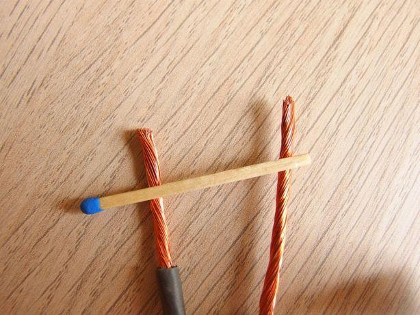 5x2,5m (12,5m) Przewód linka kabel 1x4mm^2 4mm2 miedziany