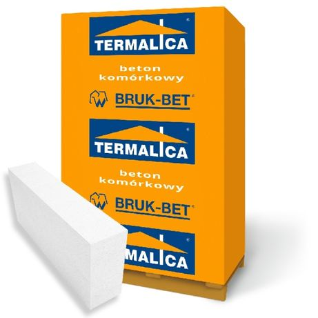 PUSTAK bloczek Termalica 12x25x60 gazobeton beton komórkowy +dost HDS