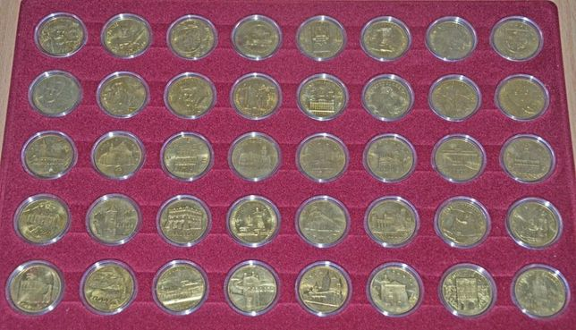 Komplet monet 2 zł z 2008 roku 16 szt. w kapslach - i inne komplety
