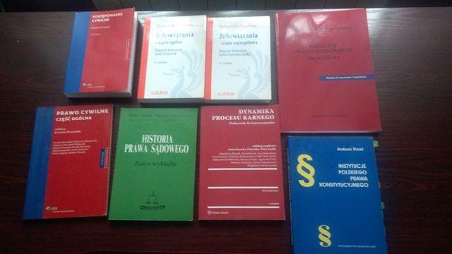 Podręczniki na prawo, studia prawnicze, materiały z prawa, WPIA UAM