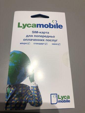 Стартовые пакеты Lycamobile